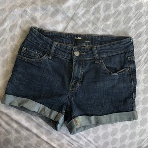BDG shortie denim shorts